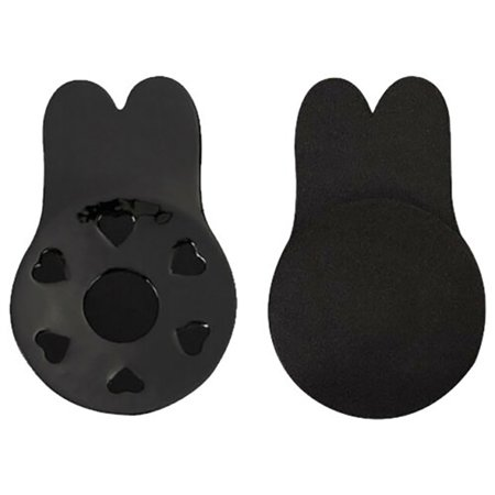 2Pcs/Set Women Bra Bikini Pads Self Adhesive Silicone Lift Up Tape Rabbit Ear Chest Sticker Nipple