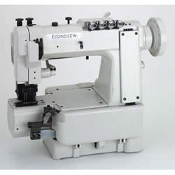 Econosew Extra Heavy Cylinder-bed Double-chainstitch Machine 302U4 w/ table & motor