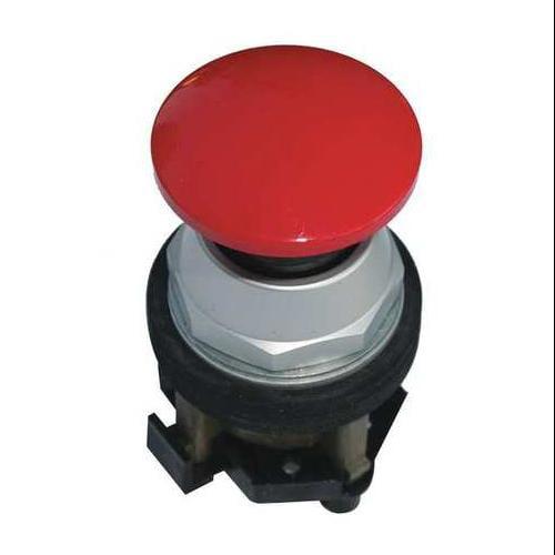 EATON HT8CBRB Non-Illum Push Button, 30mm, 1NC, Red