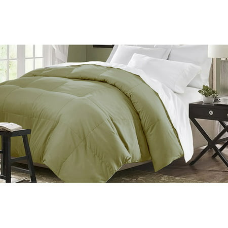 Microfiber Down Alternative Comforter (King) Platinum