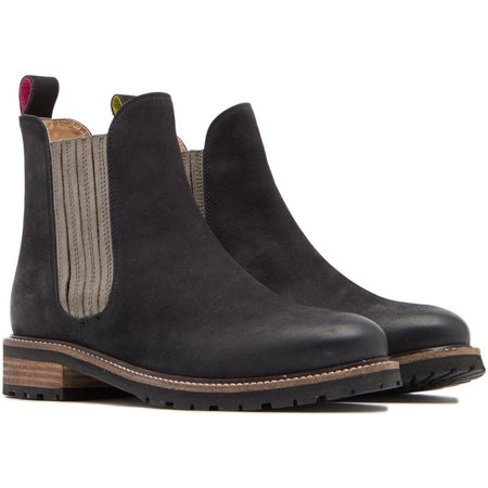 9b8f0538f5b Joules - Joules Women's Clarendon Chunky Chelsea Fashion Boots Black ...