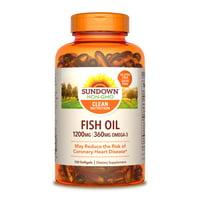 Sundown Naturals 1200 mg, 100 ct Fish Oil Extra Strength Softgels