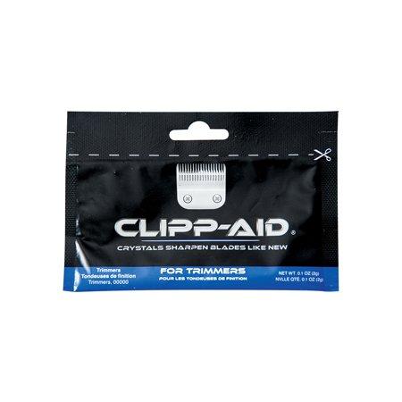 Barber Clipp-Aid Trimmer Blade Sharpen Crystals Blue Sachet 0.2oz CL-04142 (Trimmer Blue Sparkle)