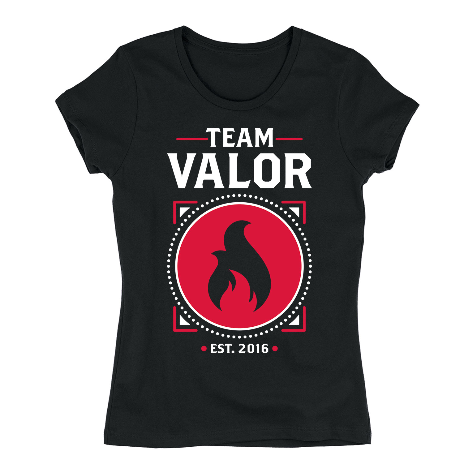 Team Valor-Adult LADIES SHORT SLEEVE TEE