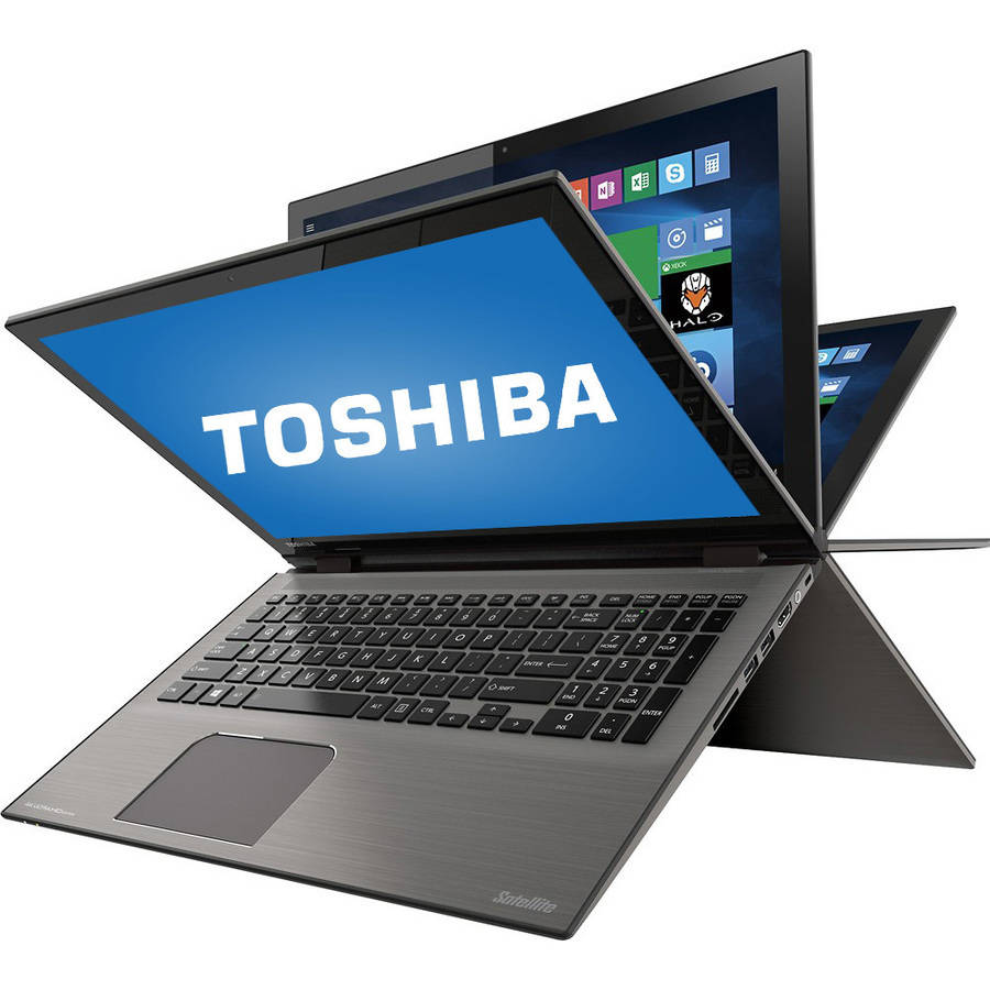 "Refurbished Toshiba Satellite Radius 15.6"" Laptop, Touchscreen, 2-in-1, Windows 10 Home, Intel Core i7-6500U Processor, 12GB RAM, 1TB Hard Drive"