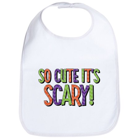 CafePress - So Cute It's Scary Bib - Cute Cloth Baby Bib, Toddler - Scary Babies
