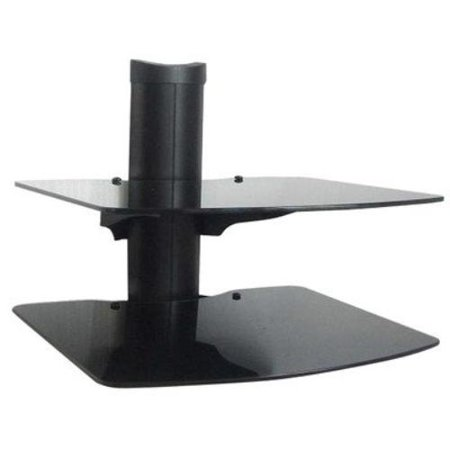 Mustang Mv-ws2 Mounting Shelf For A/v Equipment - 30 Lb Load Capacity - Charcoal Black (ws18)