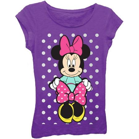 & Bow Girls' Short Sleeve T-Shirt