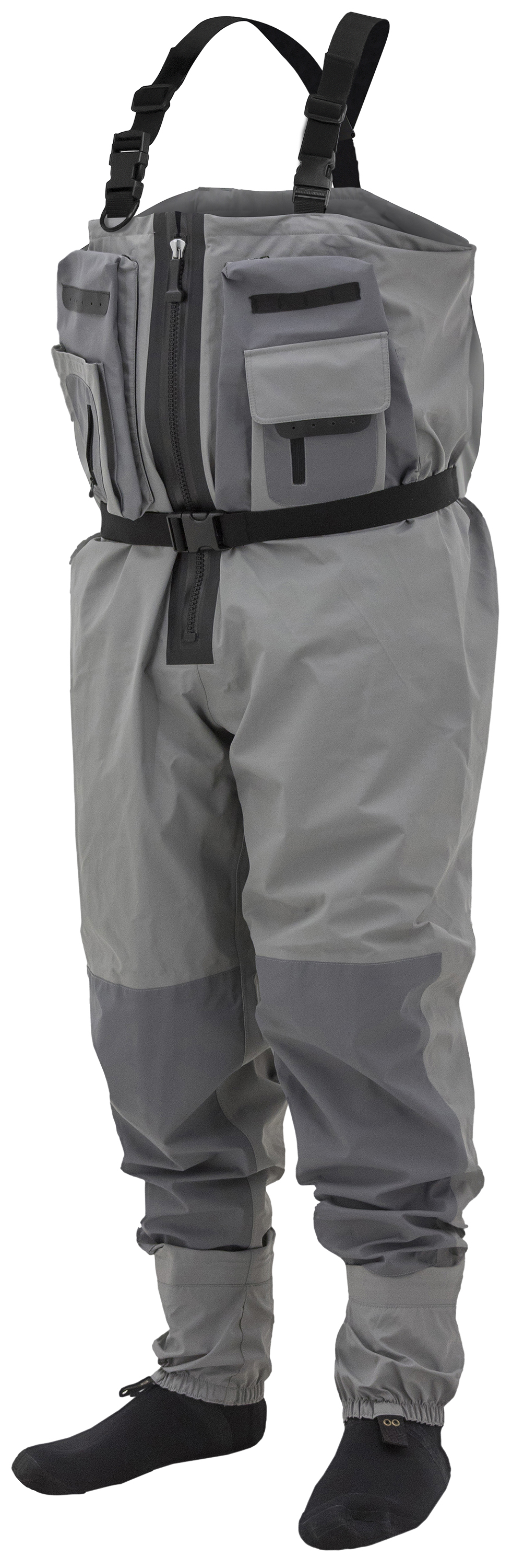 Sierran Transition Z Breathable Zip-front Wader by Frogg Toggs