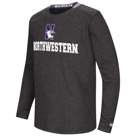 - Northwestern Wildcats Youth NCAA Steff Long Sleeve T-Shirt  - Team Color