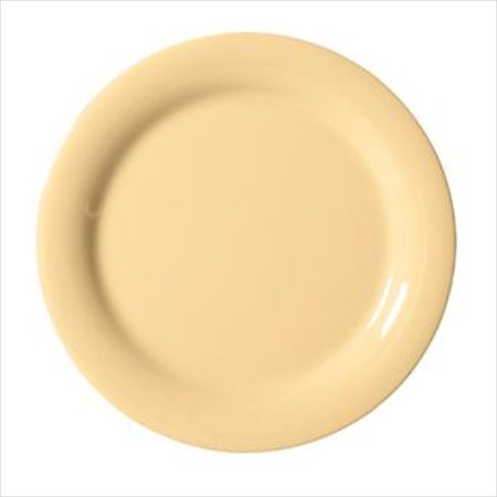 Diamond Harvest 6.5 inch Narrow Rim Plate Squash Melamine/Case of 48 ()
