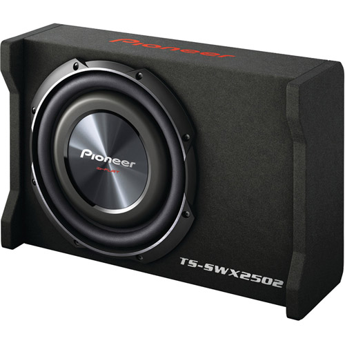 """Pioneer TS-SWX2502 10"""" Preloaded Subwoofer Enclosure Loaded with TS-SW2502S4 by Pioneer"""