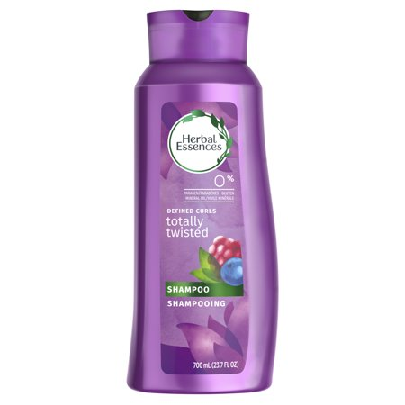 Herbal Essences Totally Twisted Curly Hair Shampoo with Wild Berry Essences, 23.7 fl oz