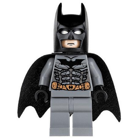 LEGO DC Super Heroes Batman, Dark Bluish Gray Suit with Black Mask - Lego Masks