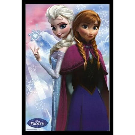 Frozen - Anna & Elsa Poster Print](Frozen Poster)