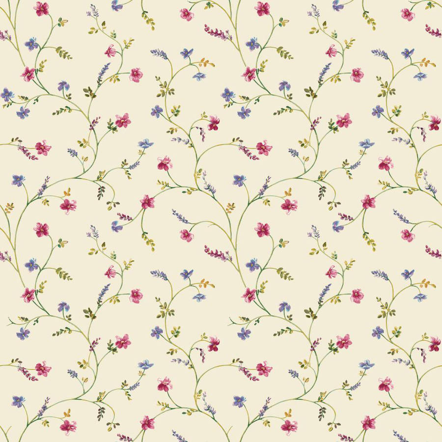 Country Keepsakes Country Floral Trail Wallpaper