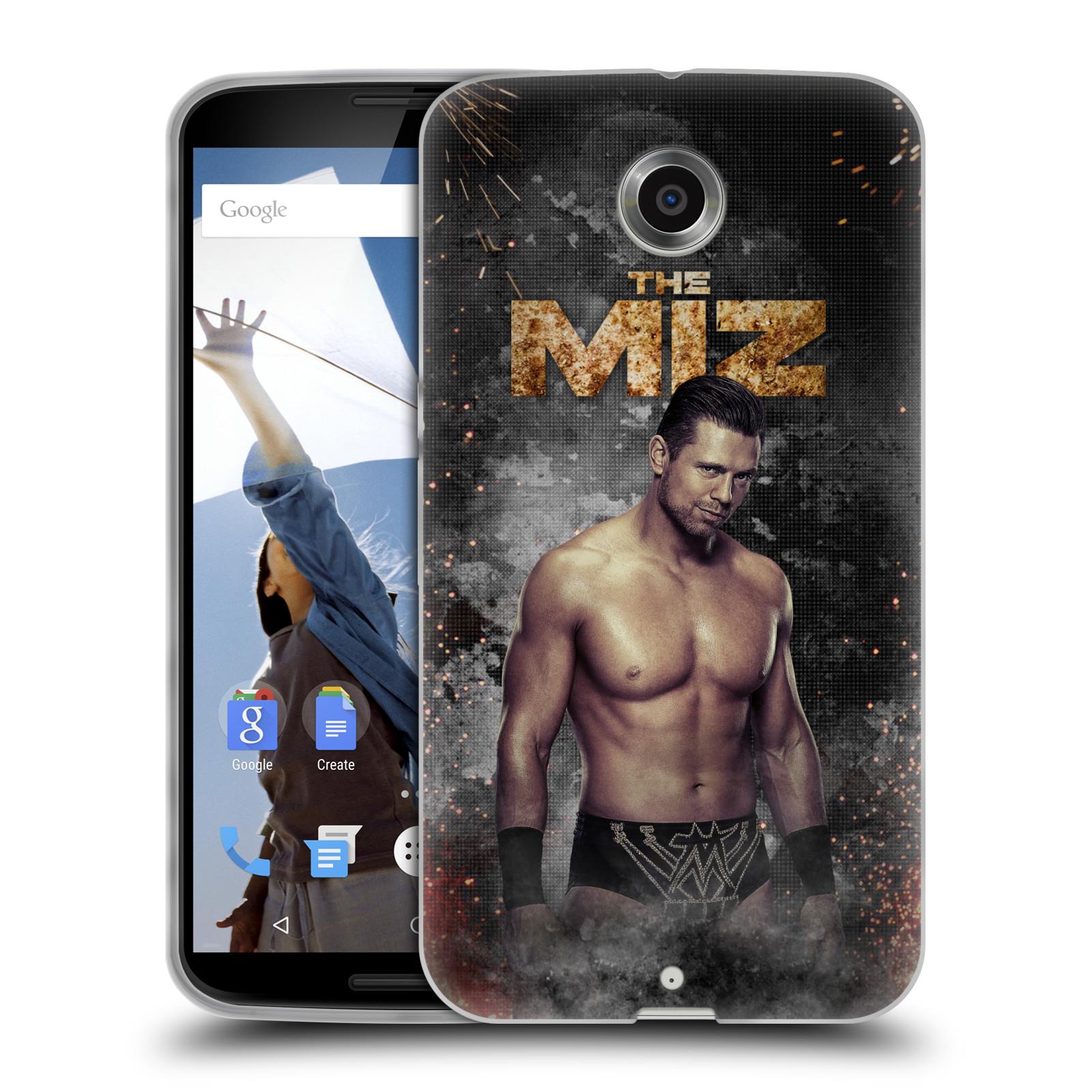 OFFICIAL WWE THE MIZ SOFT GEL CASE FOR MOTOROLA PHONES 2