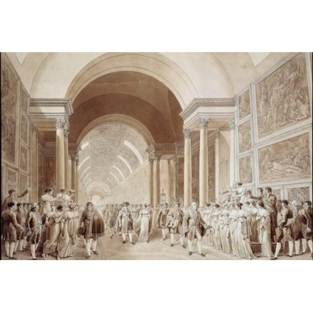 View of the Wedding Procession of Napoleon and Marie Louise Print Wall Art](Wedding Procession)