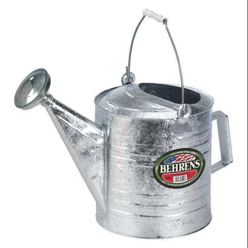 BEHRENS 212 Can, 3 gal., Steel, Silver