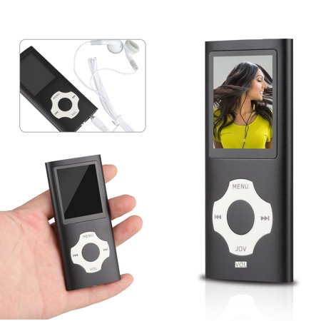 MP3 Player, Support 64GB Digital Music Player MP3 Music Player with FM Radio 1.8
