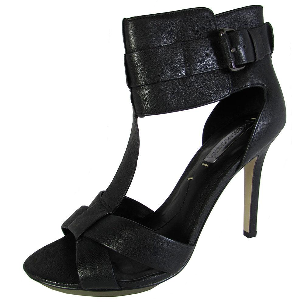 BCBG BCBGMAXAZRIA Womens MA-Demi Ankle T-Strap Platform Pump Shoe