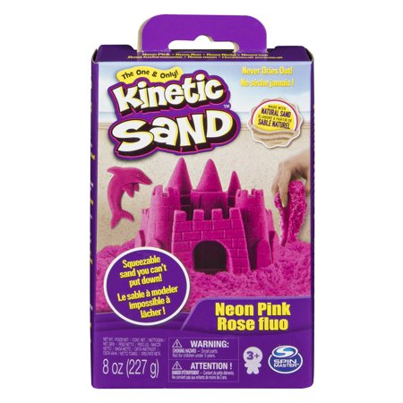 Kids Sand Crafts - Kinetic Sand - 8oz Pink