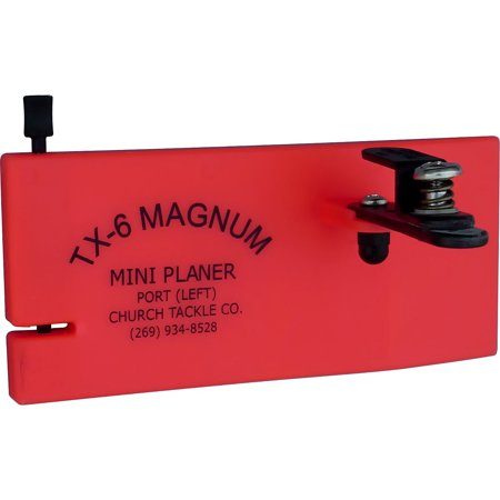 CHURCH'S TACKLE TX-6 MAGNUM MINI PLANER BOARD-LEFT, Church Tackle® TX-6 Magnum mini planer board - Port . Model Number: 30501. Clip can be.., By Church Tackle