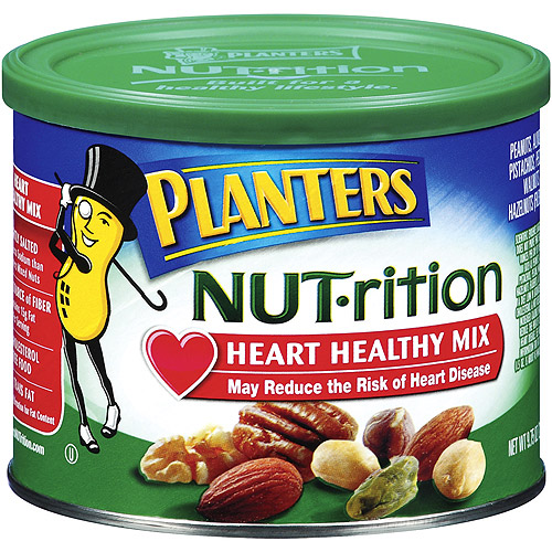 Planters Nut-Rition Heart Healthy Mix, 9.75 oz