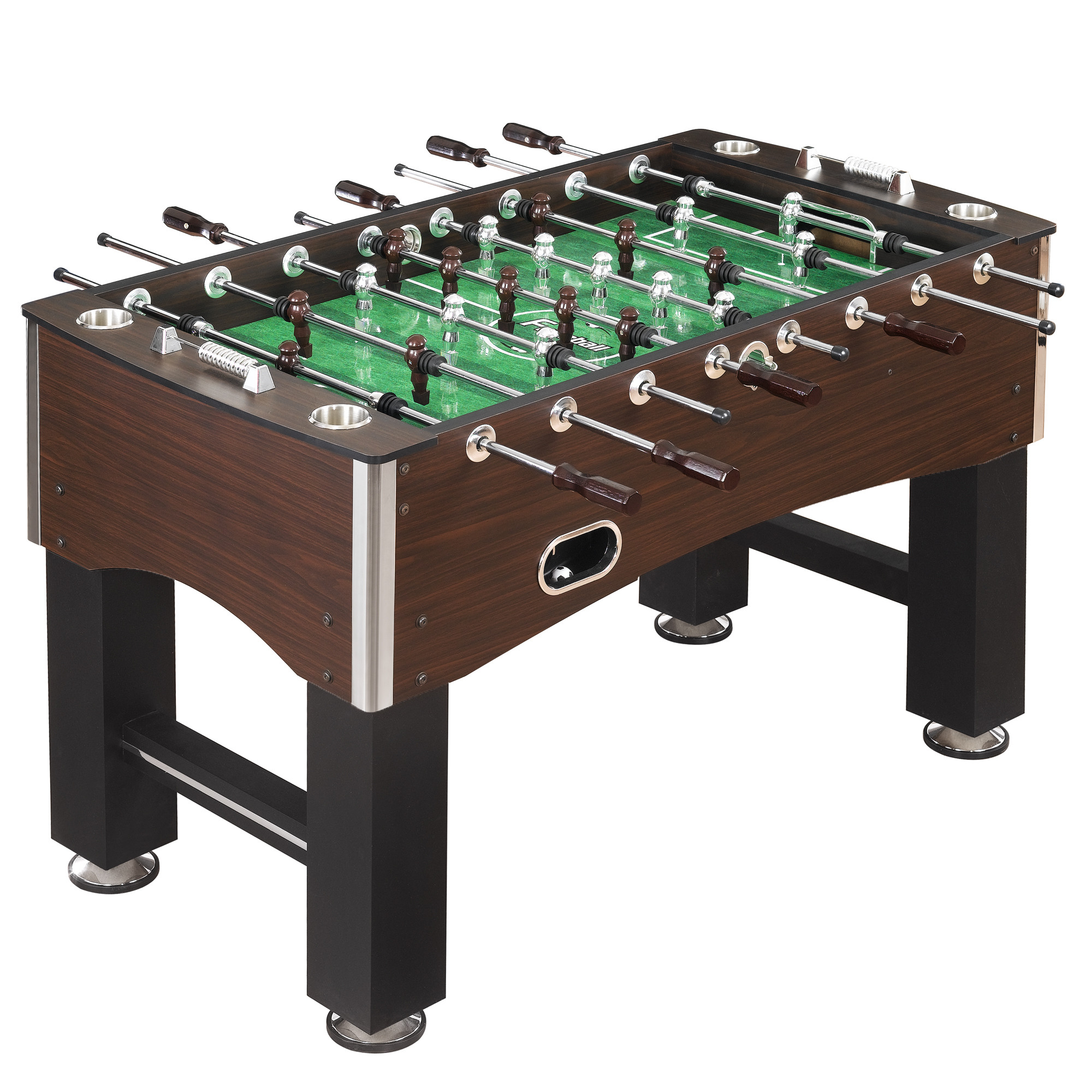 Hathaway Primo Foosball Table, 56-in, Wood Grain Finish