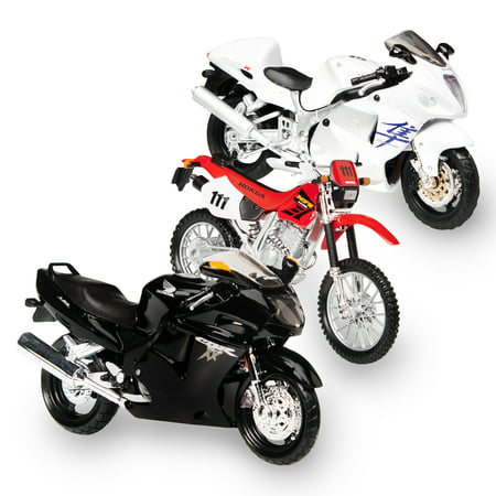 Adventure Force Die-Cast Motorbikes, 3 Count (Assortment may vary) (Diecast Assortment)