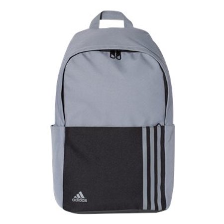Adidas 18L 3-Stripes Small Backpack One Size Grey (Adidas Compression Backpack)