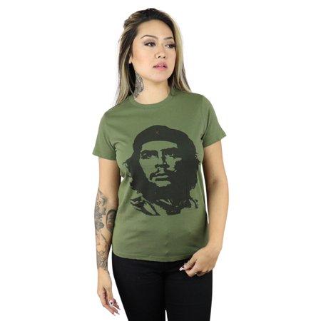 ShirtBANC Che Guevara Womens Shirt Viva La Revolucion Revolutionary Tee
