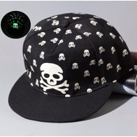 82f82f0ed44 Product Image Luminous Hip-Hop Baseball Cap Glow In The Dark Night Green  Light TFBOYS Color