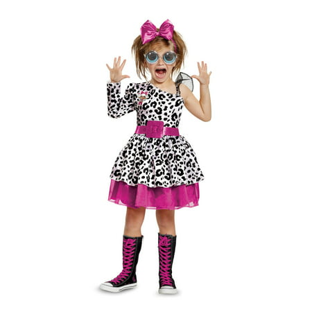 L.O.L Dolls Diva Deluxe Child Halloween Costume - Rag Doll Costume Kids