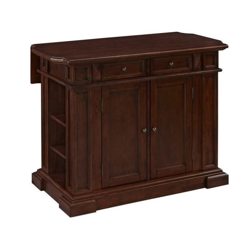 Bowery Hill Kitchen Island in Cherry