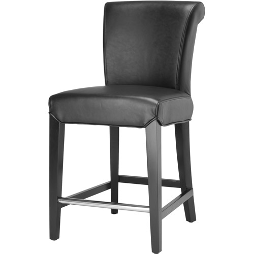 Safavieh Seth Contemporary Curved Back Counter Stool With