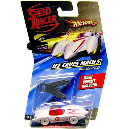 Hot Wheels Speed Racer Ice Cave Mach 5 Diecast Car ()