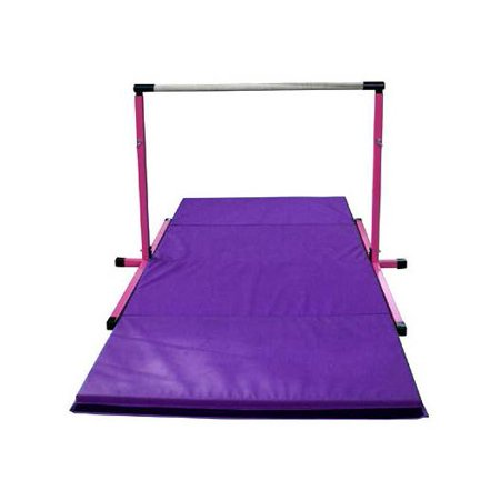 Adjustable Horizontal Bar And Mat Combo