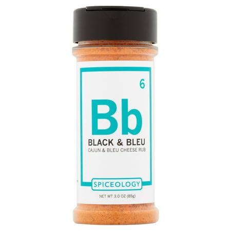 Wedding Black Rub (Spiceology Ssnng Rub Black Bleu,3 Oz (Pack Of 6) )