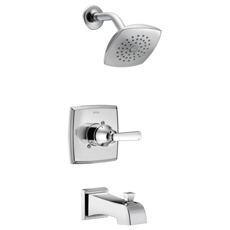 Delta Ashlyn Monitor® 14 Series Tub & Shower Trim in Chrome T14464