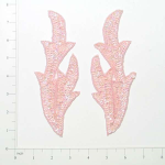 Expo Int'l Willow Leaf Sequin Applique Pack of 2