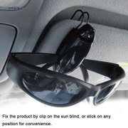 37b4eb2b461 3 Pcs Car Auto Sun Visor Clip Holder For Reading Glasses Sunglasses  Eyeglass Card (8