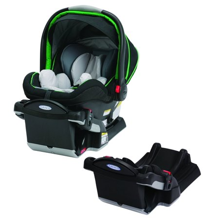 graco snugride click connect 40 infant car seat with extra base. Black Bedroom Furniture Sets. Home Design Ideas