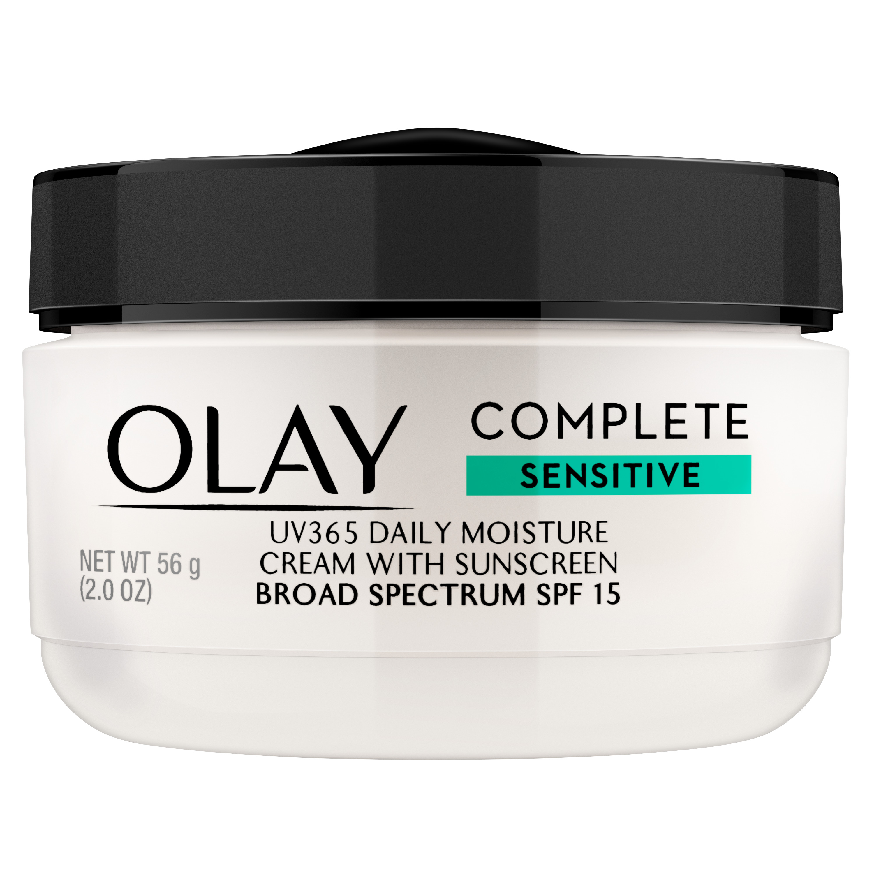 Olay Complete Face Cream Moisturizer with SPF 15 Sensitive Skin, 2.0 oz