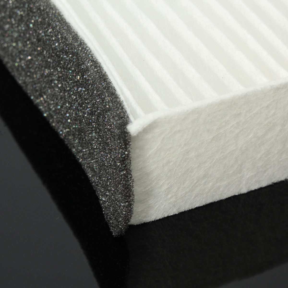 Car Hypoallergenic Cabin Air Filter White Nylon For Acura