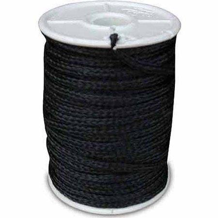 Black Poly Twine, 3mm, 500' Spool
