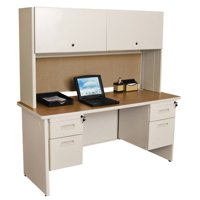 Marvel Pronto 60 in. Double File Desk Credenza Including Flipper Door Cabinet