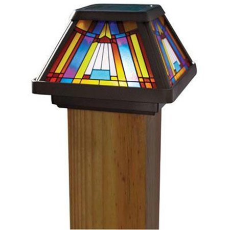 Image of Inglenook 6x Stain Glass Post