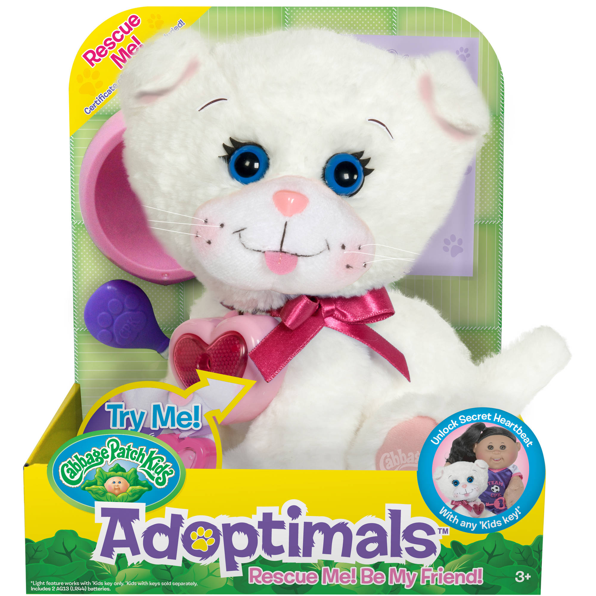 Cabbage Patch Kids Adoptimals White Kitty by Duohong Toys (Shenzhen) Co., Ltd.