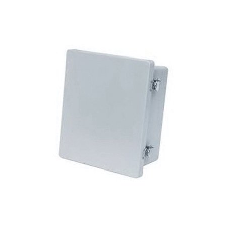 36 Hinged Enclosure Cover - Allied Moulded AM Enclosure Assembly, Twist Latch Hinged Solid/Opaque Cover, 14.4 Inch W x 8 Inch D, NEMA 4X